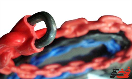 زنجیر-جبران-معمولی-آسانسور-کششی-روکش-دار
