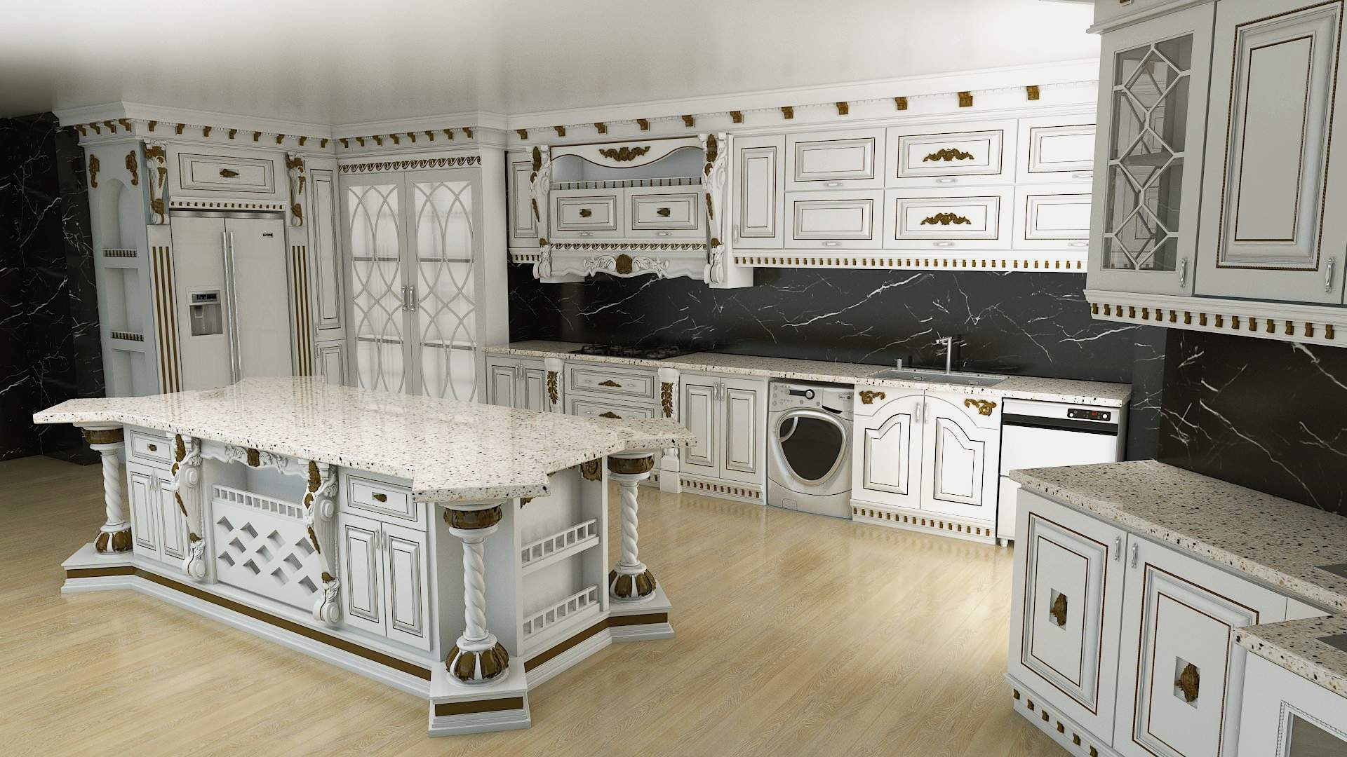 انواع کابینت کلاسیک,خرید کابینت کلاسیک,طراحی و ساخت کابینت کلاسیک,