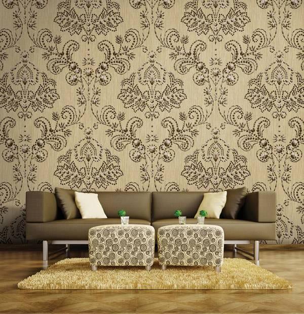 طرحهای متفاوت کاغذ دیواری,کاغذ دیواری در طراحی داخلی منزل,کاغذ دیواری و ابعاد منزل,