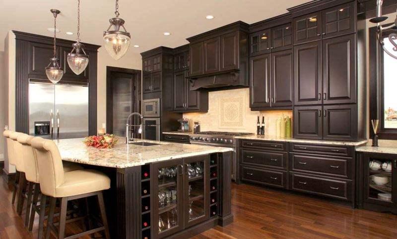 کابینتهای آشپزخانه,انتخاب رنگ کابینت,ساخت مدلهای کابینت,