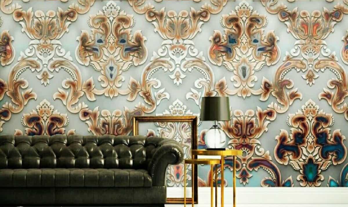 طراحی داخلی,انتخاب کاغذ دیواری,چیدمان بر اساس کاغذ دیواری,