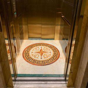 انواع کفپوش آسانسور
